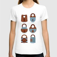 Evolution Of Secrets Womens Fitted Tee White SMALL