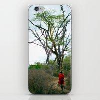 Masai Warrior iPhone & iPod Skin