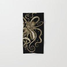 Octopsychedelia Sepia Hand & Bath Towel