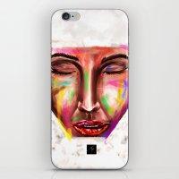 Scars iPhone & iPod Skin
