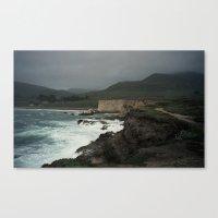 Montaña De Oro Stormy H… Canvas Print