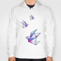Origami Pastels Hoody