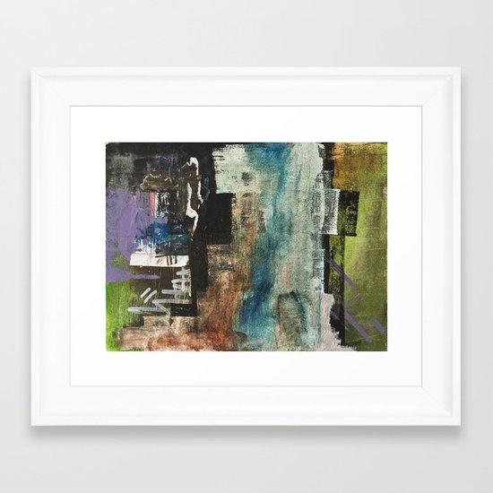 walls #1 Framed Art Print
