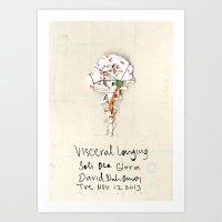 Visceral Longing  Art Print