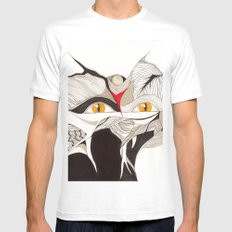Masquerade SMALL White Mens Fitted Tee