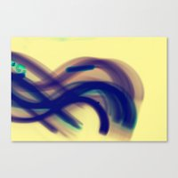 Movin' Canvas Print