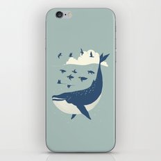 Fly in the sea iPhone & iPod Skin