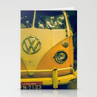 Yellow_kombi Stationery Cards