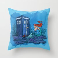 Part of Every World Throw Pillow