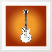 Gibson Les Paul Standard Art Print