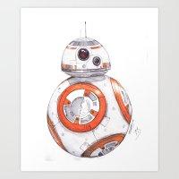 BB-ART Art Print