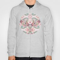 Lily, Leaf & Triangle Pa… Hoody