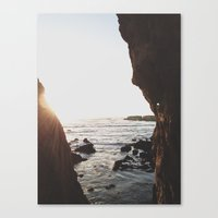 Shell Beach View Canvas Print