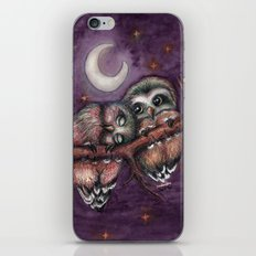 Owls in love II iPhone & iPod Skin