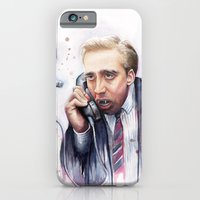 iPhone & iPod Case featuring Nicolas Cage by Olechka