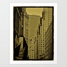 NY Art Art Print