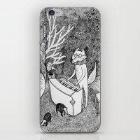 Fox Piano iPhone & iPod Skin