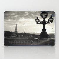 Mysterious Paris iPad Case