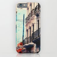 Colorful Buildings Of Ol… iPhone 6 Slim Case