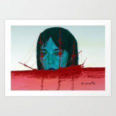 The Sinking Ship IS My Lifeboat. Art Print