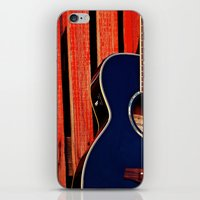 6 Strings and a Barn iPhone & iPod Skin