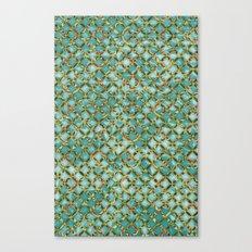Between Crooked Sheets Canvas Print