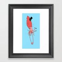 Gentlesquid Framed Art Print