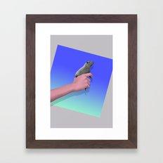 Bustin' Caps Framed Art Print