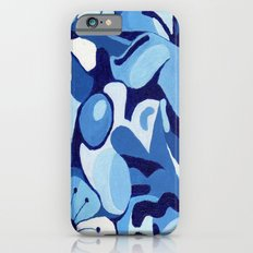 Cherry Blossom in Blue iPhone 6 Slim Case