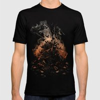 Arising after a fall Mens Fitted Tee Black SMALL