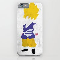iPhone & iPod Case featuring Goku SSJ by JHTY