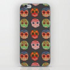 Watercolor Dia de los Muertos Skulls  iPhone & iPod Skin