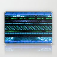 How Busy Are You? (blue-… Laptop & iPad Skin
