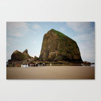 Canon Beach, Oregon Canvas Print