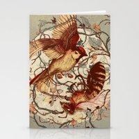 brain Stationery Cards featuring Honey & Sorrow (grey) by Teagan White