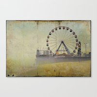 Seaside Heights New Jersey  Canvas Print