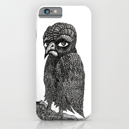 Morbid bird iPhone & iPod Case