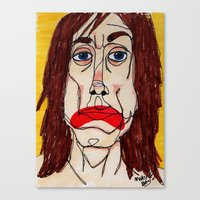 Iggy Pop Canvas Print