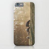 Sheep In Fog At Sunrise.… iPhone 6 Slim Case