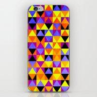 Triangles II iPhone & iPod Skin