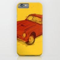 iPhone & iPod Case featuring Ferrari by Juan Alonzo