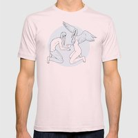 Your Box Mens Fitted Tee Light Pink SMALL