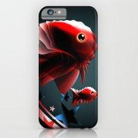 iPhone & iPod Case featuring Angel Fish by Irmak Akcadogan