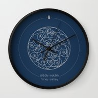 Doctor Who: Wibbly Wobbl… Wall Clock