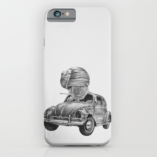 In which a snail accosts a beetle iPhone & iPod Case