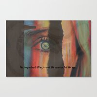 The Important Thing Is N… Canvas Print
