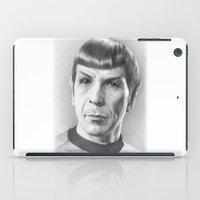 Spock - Fascinating (Star Trek TOS) iPad Case