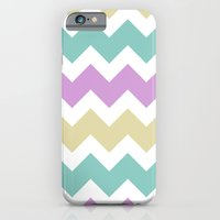 Chevron - Multi iPhone 6 Slim Case
