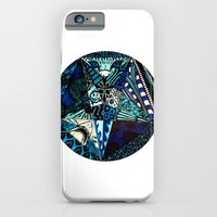 Blue Toned Pentagram iPhone 6 Slim Case