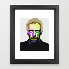 DR HOUSE Framed Art Print
